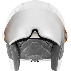 UVEX hlmt 600 Visor Helm, all white mat